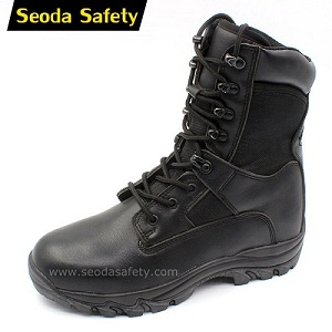 China cheap police shoes cheap military boots manufacturer