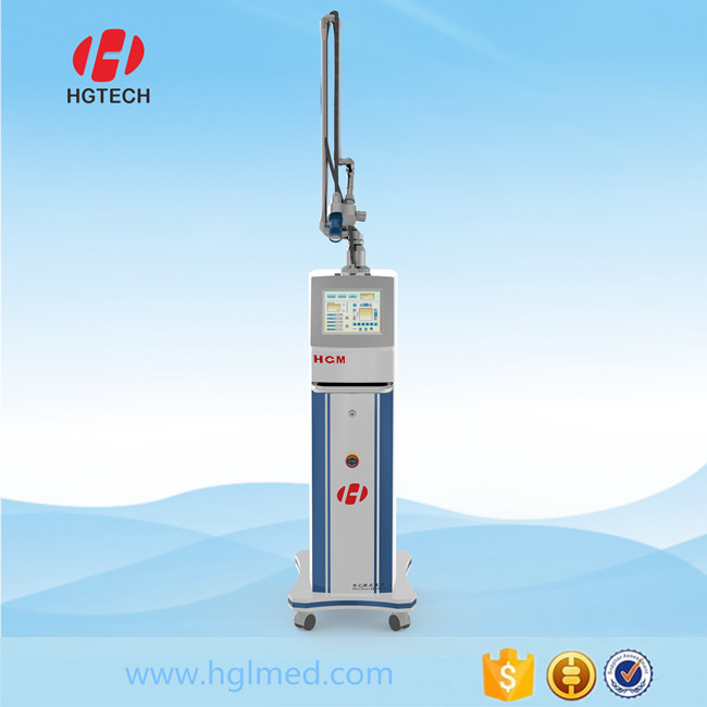 Superior epidermal protection home use co2 fractional laser