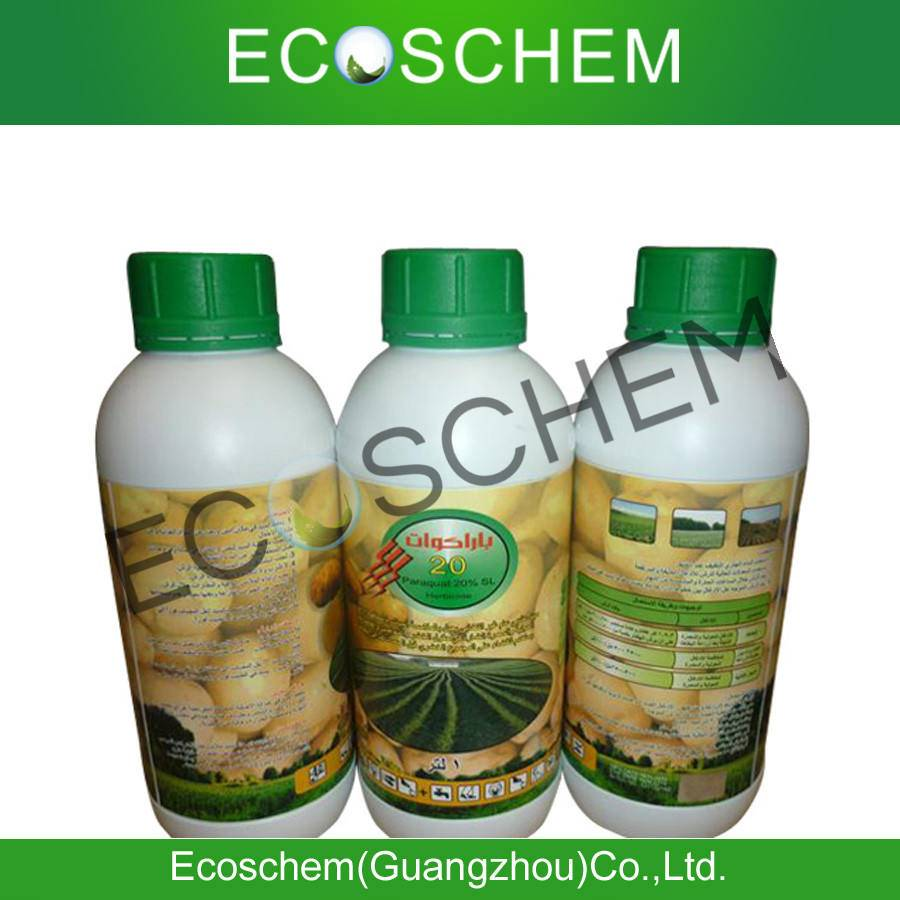 China Agrochemical HerbicideParaquat 20% SL for weed control