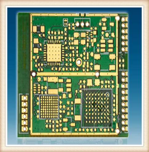 LCD Controller Printed Circuit Board and PCB Assembly with 2 Layers