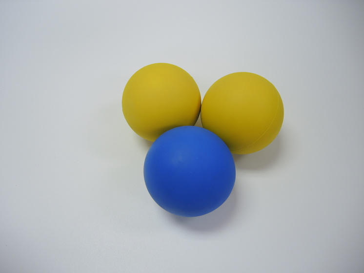 OEM rubber bouncy ball