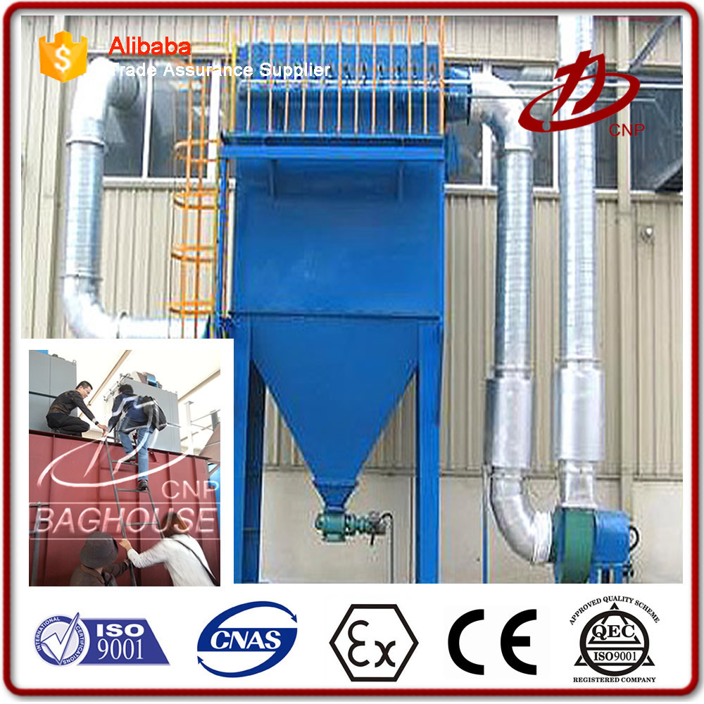 Dust collector for grinding machines