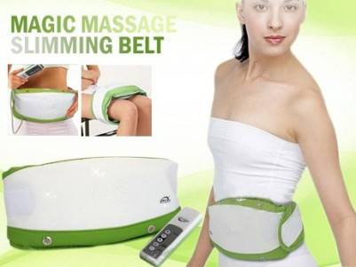 Vibration Fat Burning Massage Belt/Electric Massage Belt