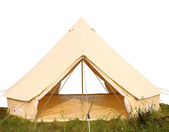 Double Door bell tent Canvas Tent Manufacturer Family Canvas Tent Manufacturer