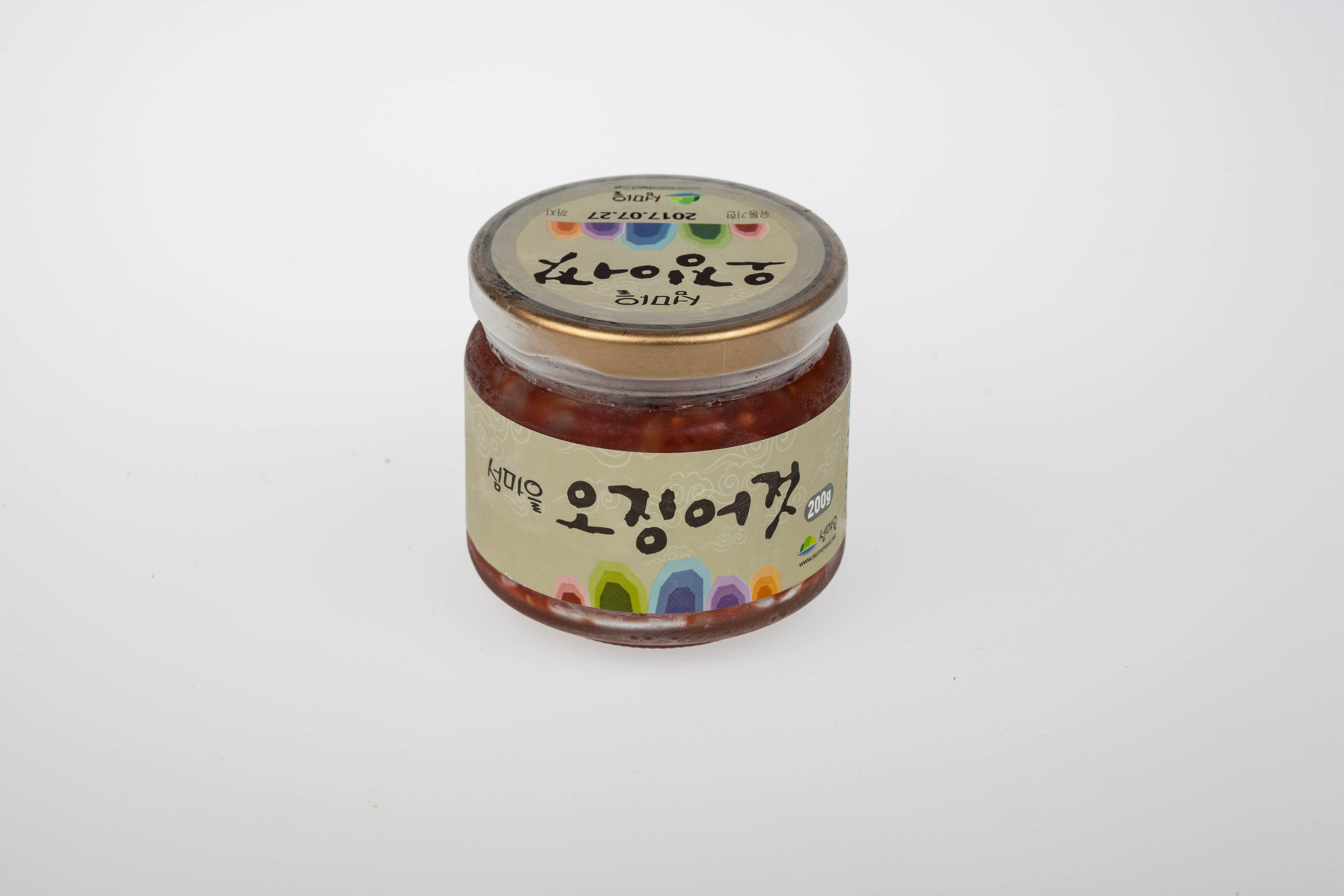Ganwoldo Spicy Pickled Squid from Seosan Korea