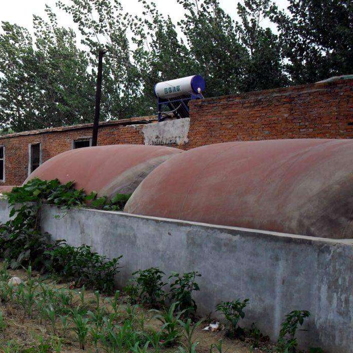 China soft PVC material biogas storage plant
