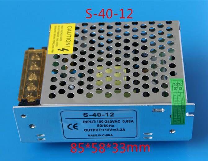 Indoor use LED Transformer LED Power Supply 25W 12V DC 2.5A Constant Voltage for LED Strip Lights