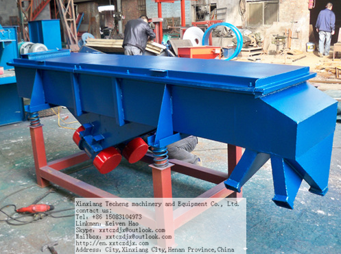 linear vibrating screen for metallurgy industry