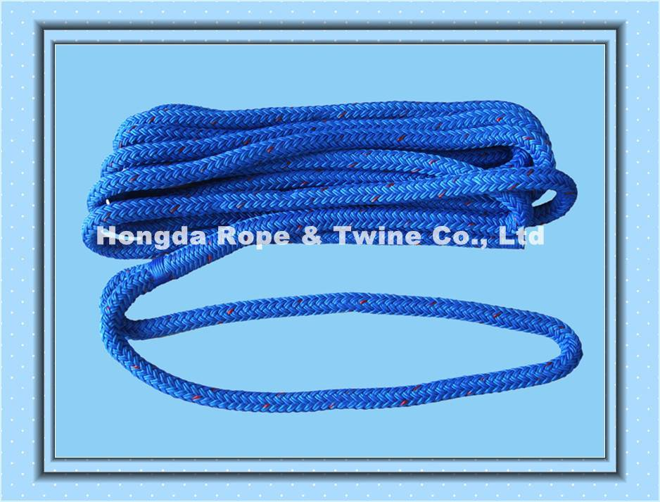 Double braided dock line in factory price
