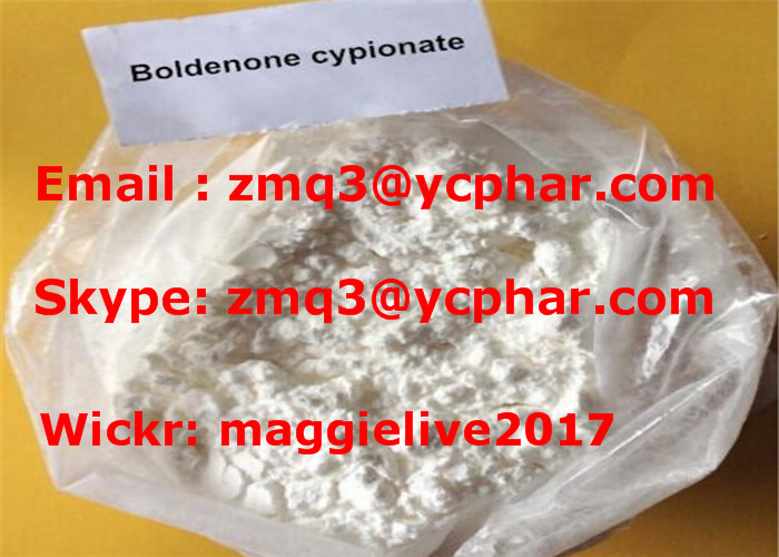 99% Purity Muscle Building White Steroids Powder Boldenone Cypionate CAS 106505-90-2