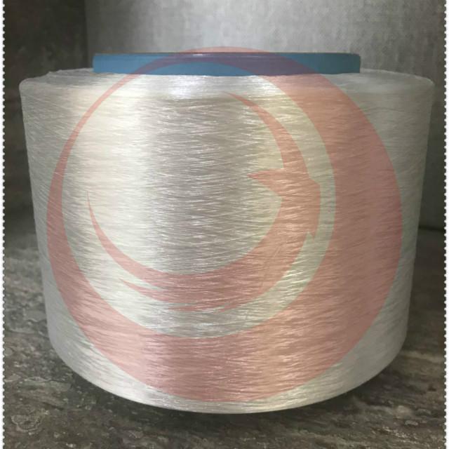 Polyester modified filament yarn/viscose rayon imitation filament yarn