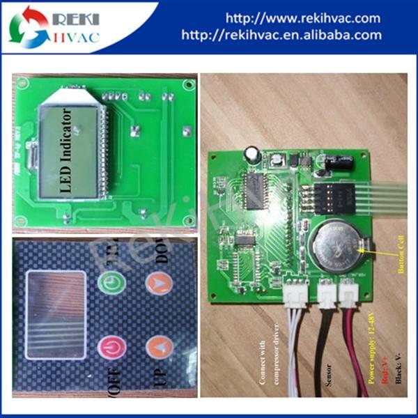 12-48VDC Input Digital Temperature Controller for Mini Compressor