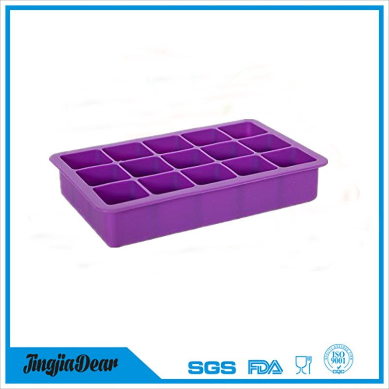 Coolest 15-Cube Silicone Ice cube Tray