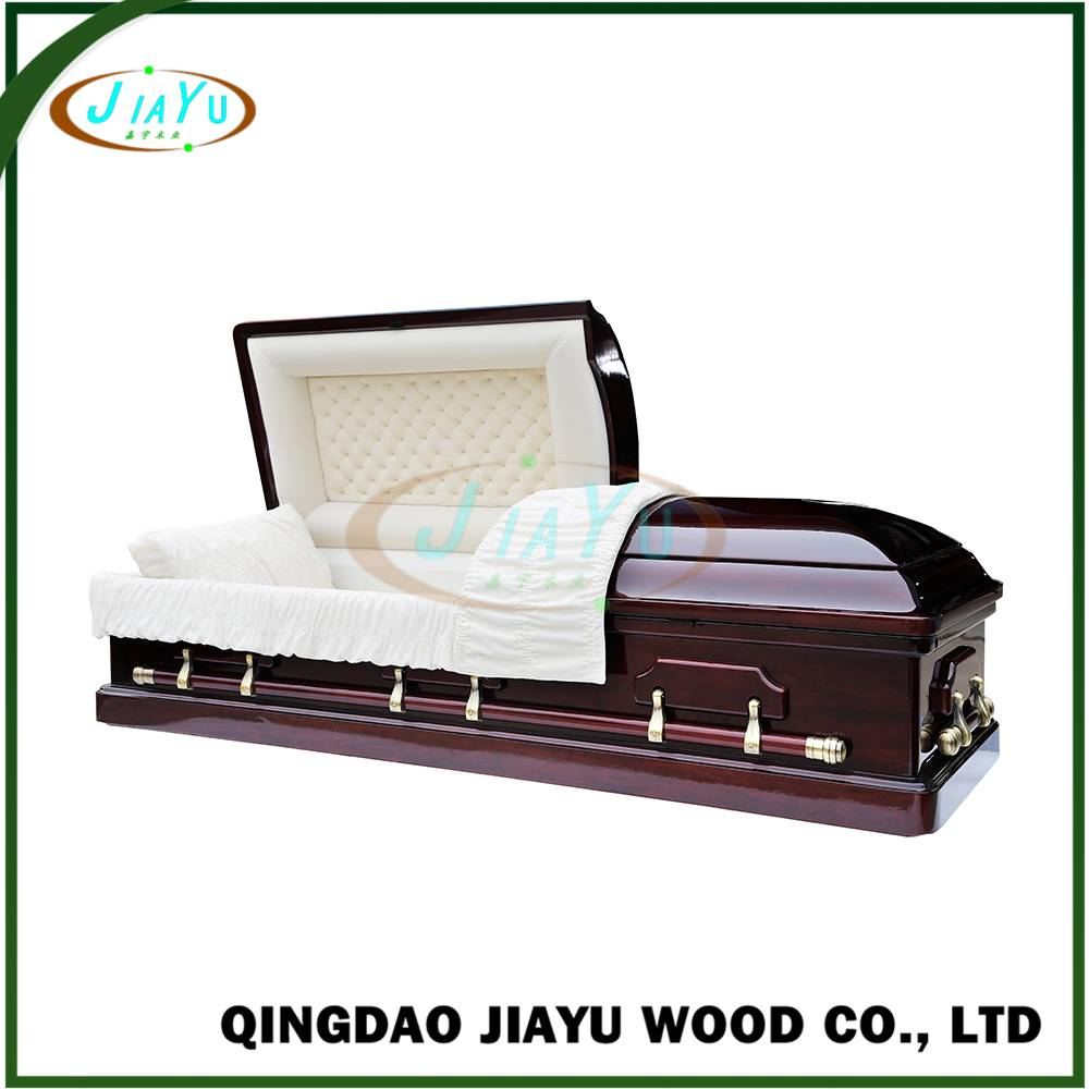 Best quality chinese funeral coffin, wood casket