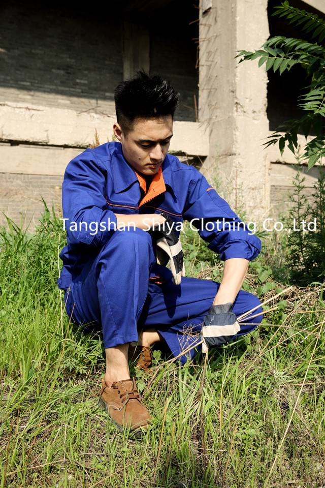factory price blue canvas china wholesale work uniform