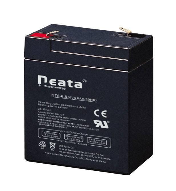 SLA battery 6V6.8AH(ISO,CE,UL,ROHS,REACH)