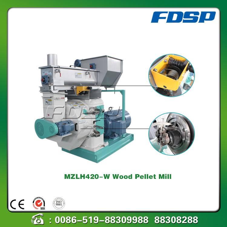 SZLH-M420 Grass Processing Pellet Mill