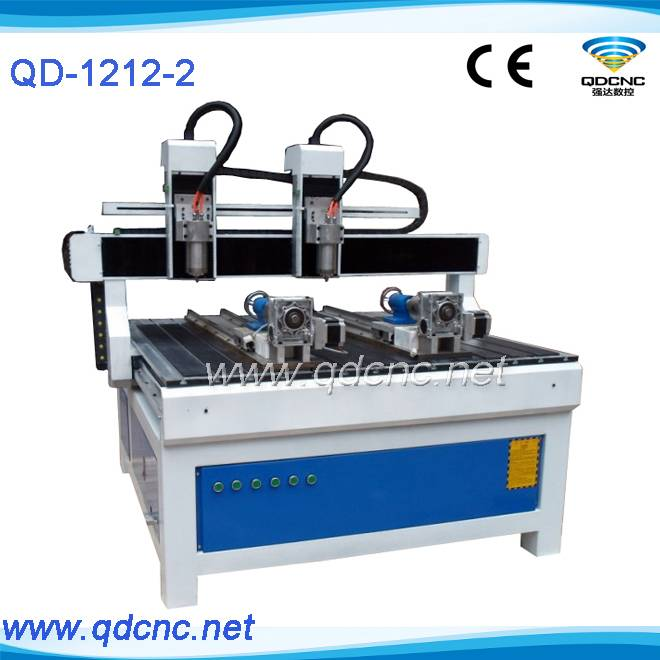 25% discounted wood furniture cnc carving router with multi heads/double spindle cnc routers for fur