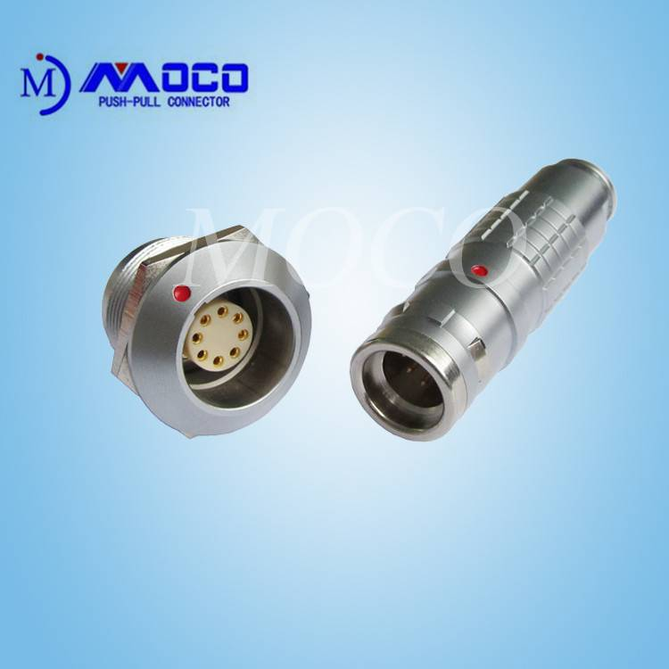 Factory dicrect IP68 M20 8 pin waterproof cable connector