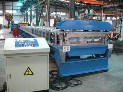 Chromdek Steel IBR Profile Roof Sheeting Machine