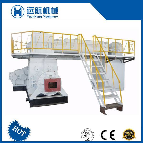Two Stage Vacuum Extruder for Clay Brick