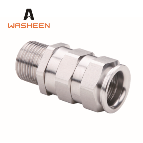 stainless steel 304 316 explosion-resistant cable gland with ATEX IEC Certificate