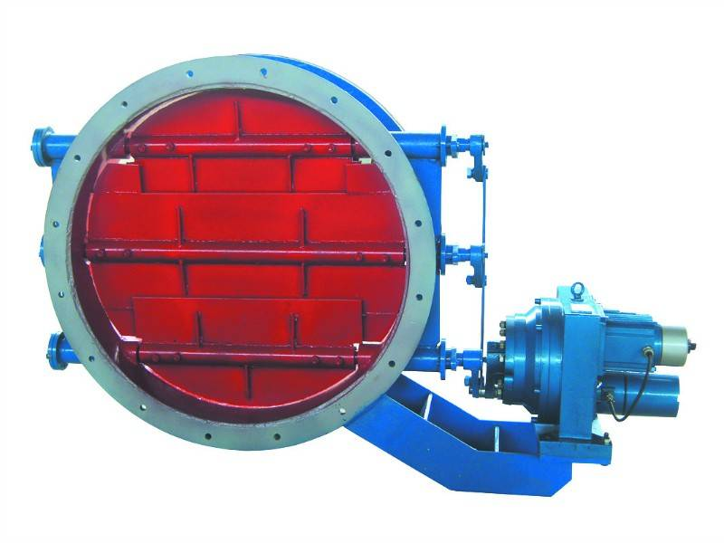 electric round damper