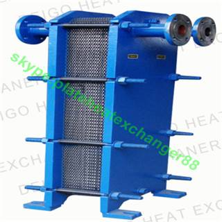 BR0.2 Type 316l stainless steel water to water plate heat exchanger