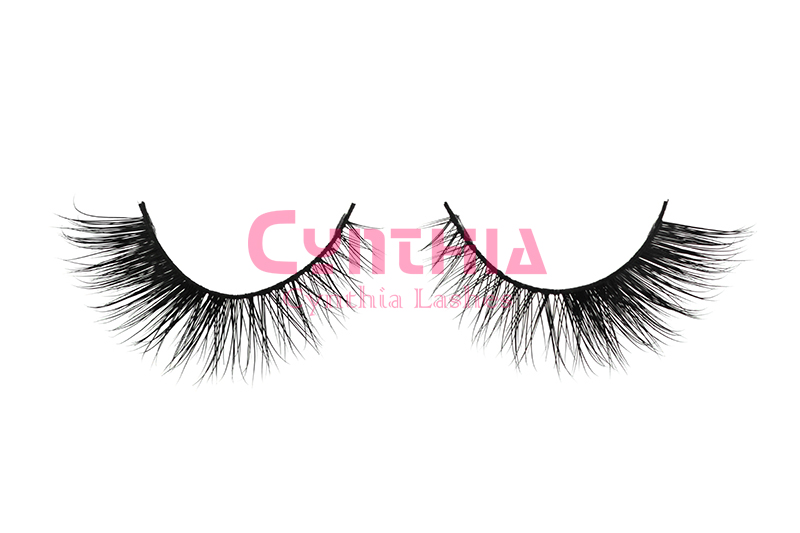Handcrafted Mink Hair Eye Lash Extensions Whosale Price