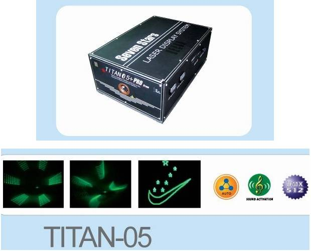 Laser Stage Light - Laser Scanner / Galvos - TITAN-05