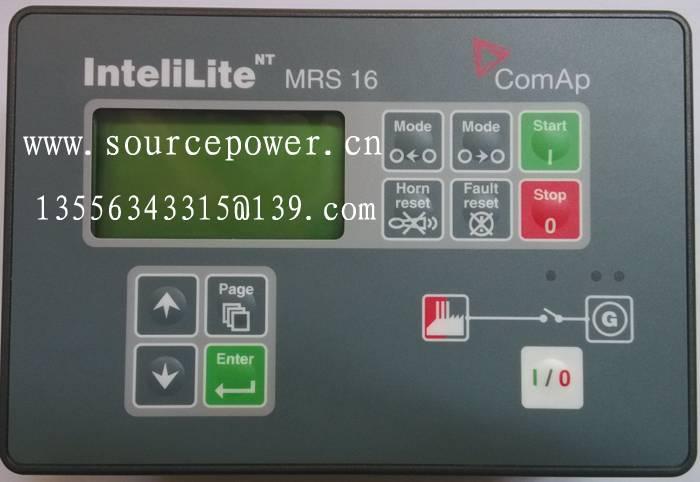 IL-NT MRS 15 InteliLite NT MRS 15 ComAp Manual Remote Start (MRS) Gen-set Controller