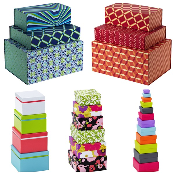 Colorful Paper Gift Boxes Packaging For Christmas Gift Paper Boxes