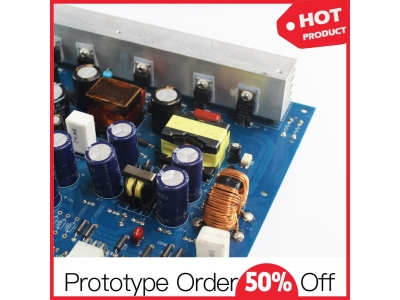 Electronic Controller Monitor PCB Assembly