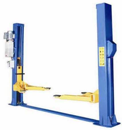 Two post floor-plate lift with electric TPF709E