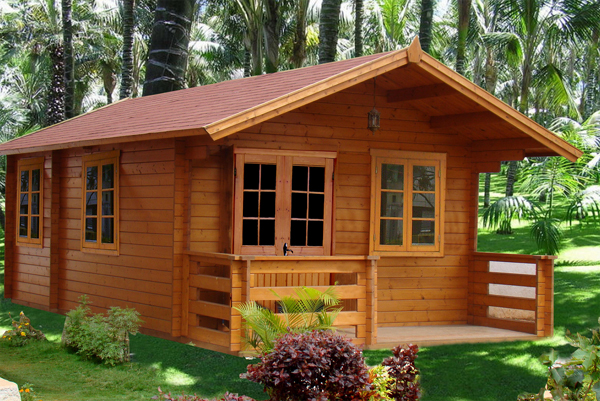 prefabricated wood frame house