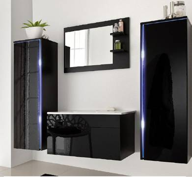 Cheap Hot Sale Europe Style MFC Bathroom Furniture with Good Quality-M1018