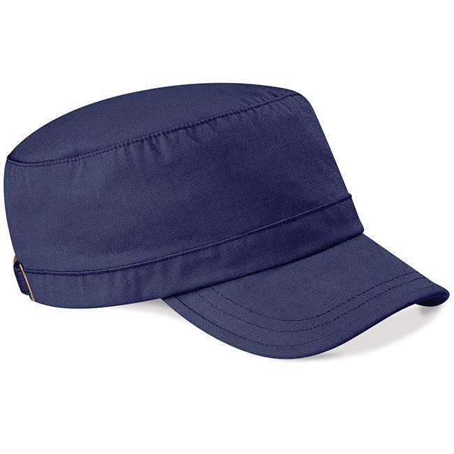 Blue Military Cap Custom-Made Logo Embroidery Caps for Sale