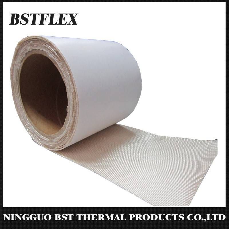 High Temperature Resistant Adhesive Bakced Silica Tape