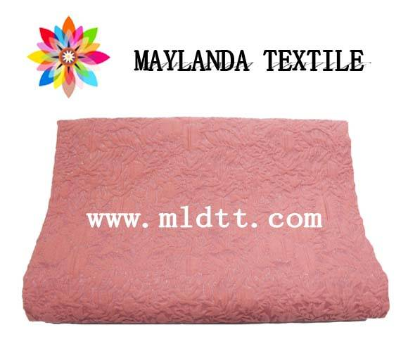 Maylanda Textile 2016 Factory for Dress, New Style Color Yarn Jacquard Fabrics