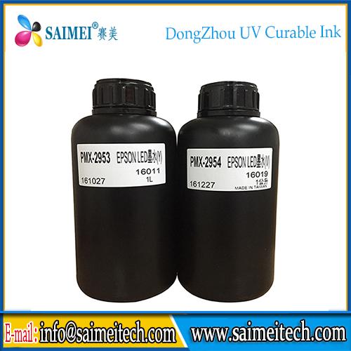 Made in Taiwan UV Ink for Epson UV Printhead Rigid / Flexible Ink