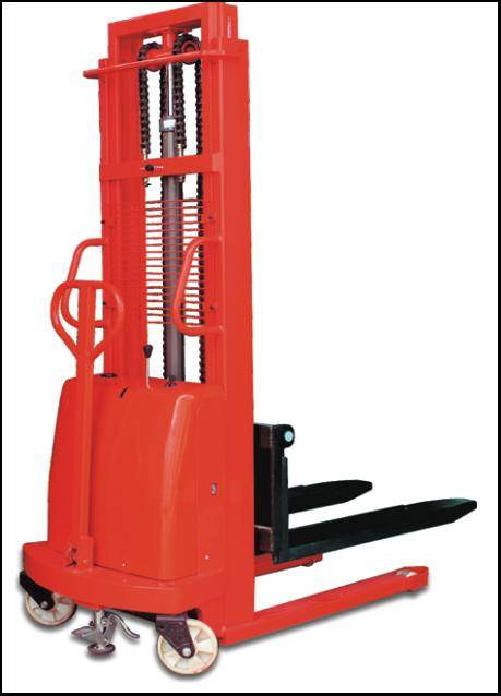0.8~2.0t Semi-Electric Pallet Stacker (12V)