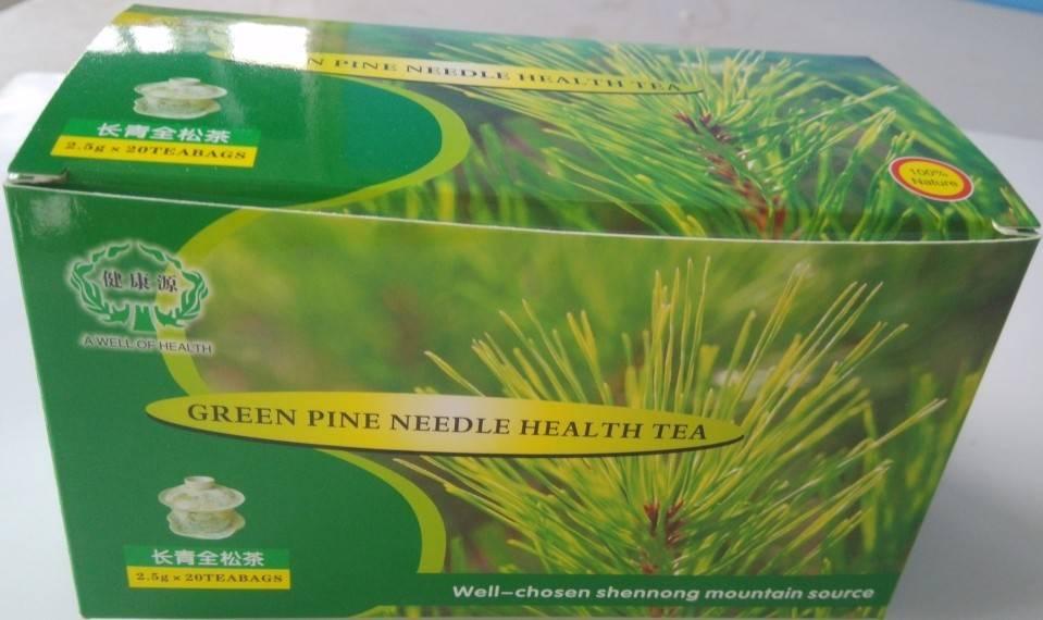 Green Pine Needle Health Tea