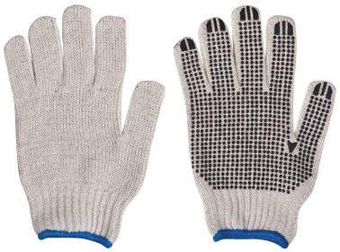 machine gloves/working gloves/builder's gloves/pvc dots gloves