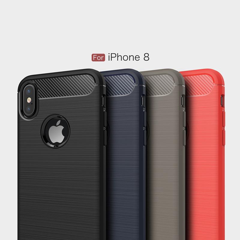new design custom logo mobile phone case cellphone case cover for iphone8