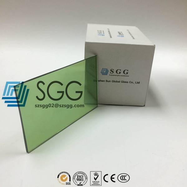 4mm 5mm 5.5mm 6mm 8mm 10mm Dark Green Reflective Glass Price