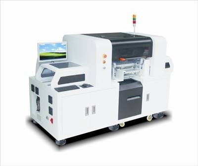 LED chip mounter