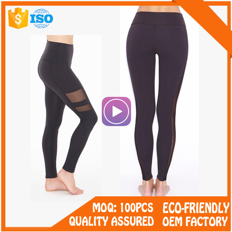 Private Label Custom Lycra Women Yoga Leggings