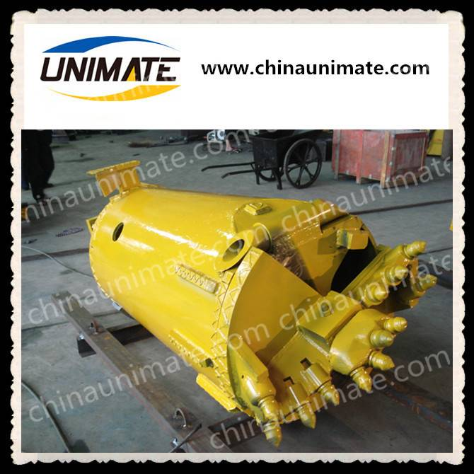 Foundation piling use Unimate drilling rock bucket drill clay bucket rock drill bucket for any type