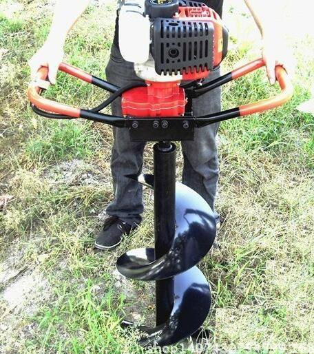 Earth Auger Ground Drill with Brake System Quick Stop Auger Drill Hole