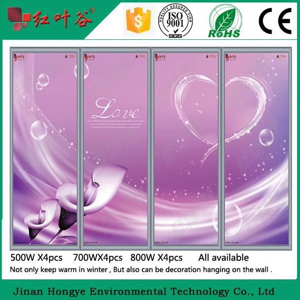 Western Oil Painting  Far Infrared Carbon Crystal Heater